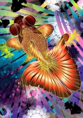 全国大会推薦 1年 野原さん 『金魚の世界』