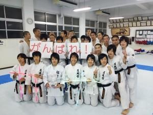 2014/12/02 部員と記念撮影