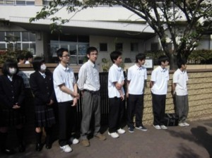 生徒会執行部の生徒たち