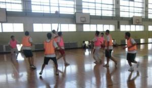 体育の授業:バスケットボール