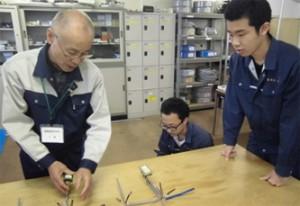 電気科実習「この作品どうですか?」